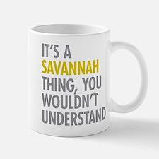 Its A Savannah Thing Small Small Mug
