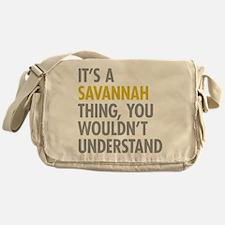 Its A Savannah Thing Messenger Bag