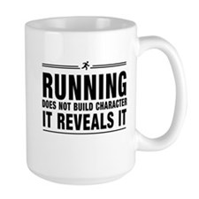 Running reveals character Mugs