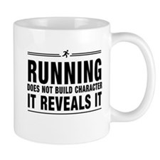 Running reveals character Mugs