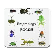 Entomology Rocks Mousepad