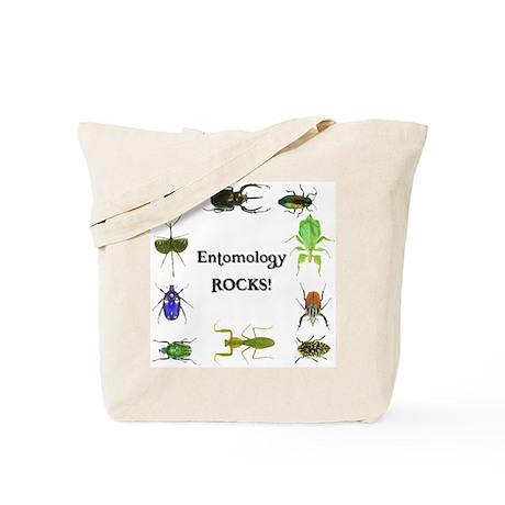 Entomology Rocks Tote Bag