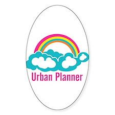 Urban Planner Rainbow Cloud Decal