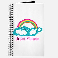 Urban Planner Rainbow Cloud Journal