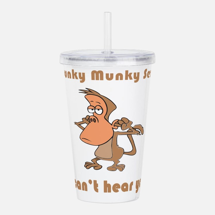 i-cant-hear-you.png Acrylic Double-wall Tumbler