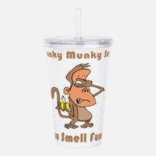you-smell-funny.png Acrylic Double-wall Tumbler