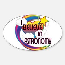 I believe in astronomy Decal
