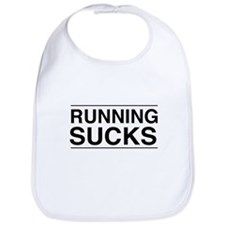 Running sucks Bib