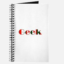 Geek Logo Red and Black Design Journal