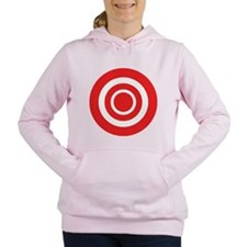 bullseye.png Women's Hooded Sweatshirt