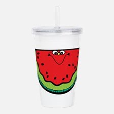 happy-watermelon.png Acrylic Double-wall Tumbler