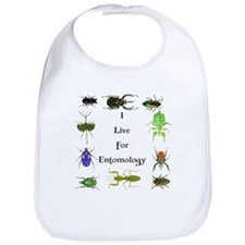 I Live For Entomology 1 Bib