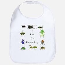 I Live For Entomology 1 Bib