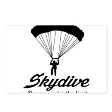 Skydive the ground is the limit Postcards (Package