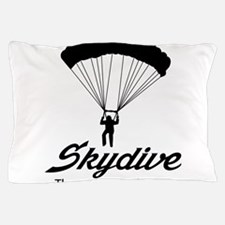 Skydive the ground is the limit Pillow Case