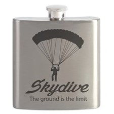 Skydive the ground is the limit Flask