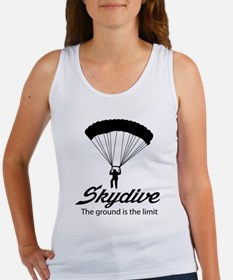 Skydive the ground is the limit Tank Top
