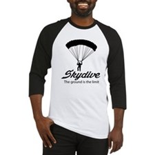 Skydive the ground is the limit Baseball Jersey