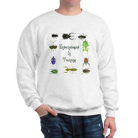 Entomologist In Training 2 Sweatshirt