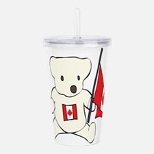 canadian-bear.png Acrylic Double-wall Tumbler