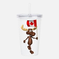 Canadian-Moose.png Acrylic Double-wall Tumbler