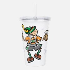 german-boy.png Acrylic Double-wall Tumbler