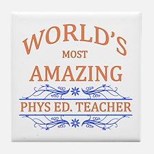Phys. Ed. Teacher Tile Coaster