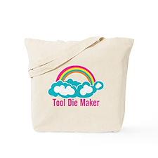Raibow Cloud Tool Die Maker Tote Bag