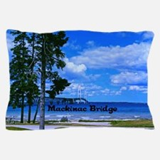 Mackinac Bridge Pillow Case