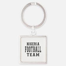 Nigeria Football Team Square Keychain