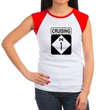 Cruising 1 (Woodward) Women's Cap Sleeve T-Shirt