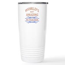 PE Teacher Travel Coffee Mug