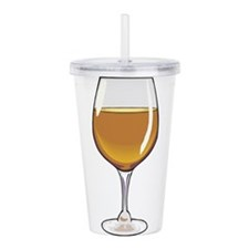 3-wine,brown.jpg Acrylic Double-wall Tumbler