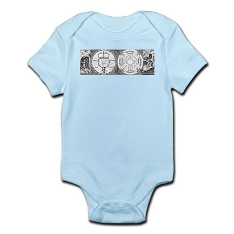 Hermetic Magic Diagram Infant Bodysuit