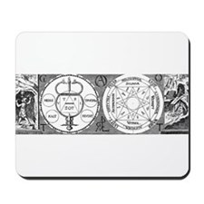 Hermetic Magic Diagram Mousepad