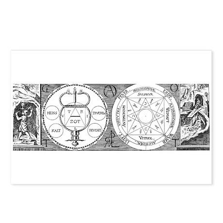 Hermetic Magic Diagram Postcards (Package of 8)
