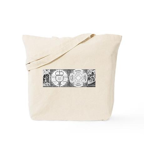 Hermetic Magic Diagram Tote Bag