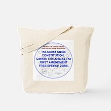 1stAmendmentArea Tote Bag