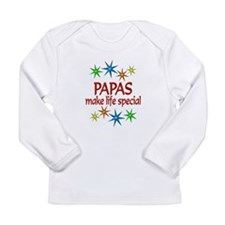Special Papa Long Sleeve Infant T-Shirt