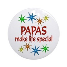 Special Papa Ornament (Round)