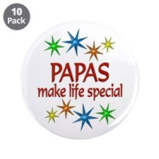 """Special Papa 3.5"""" Button (10 pack)"""