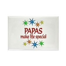 Special Papa Rectangle Magnet