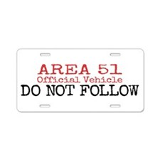 Funny Paranormal Aluminum License Plate