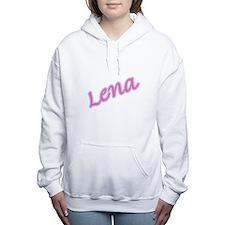 LENA copy.jpg Women's Hooded Sweatshirt