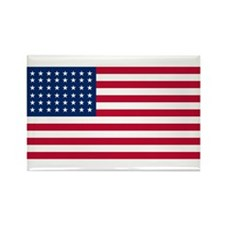 48 Star US Flag Rectangle Magnet