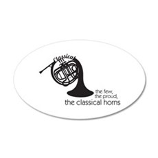 The Classical Horns Wall Decal