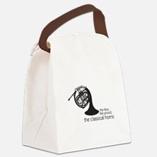 The Classical Horns Canvas Lunch Bag