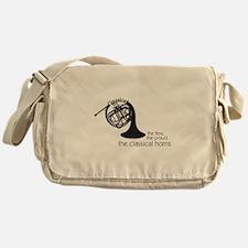 The Classical Horns Messenger Bag
