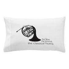 The Classical Horns Pillow Case
