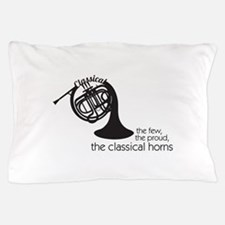 The Classical Horns Pillow Case